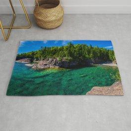 Green Beach Rug