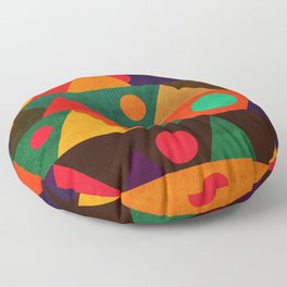 The moon phase Floor Pillow