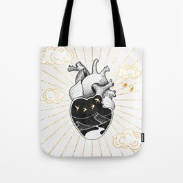 Desert Heart Inktober :: More Magick Tote Bag