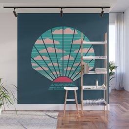 The Birth of Day Wall Mural