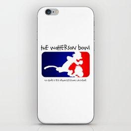 the wattrson bowl calvinball iPhone Skin