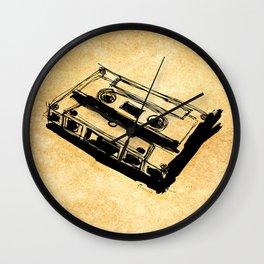 Retro Cassette Tape Wall Clock