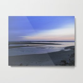 Sunset Oregon Shoreline Metal Print