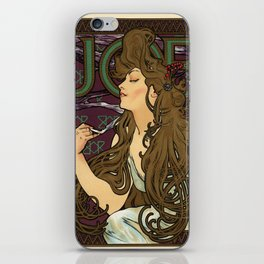 Belle Epoque vintage poster, Job advertisement iPhone Skin