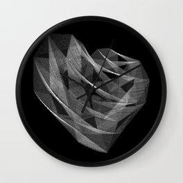 Coração Transcrito 1 Wall Clock