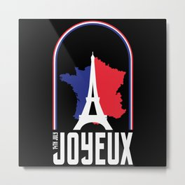 July 14th France Metal Print