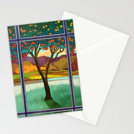 Shadow of a Seville Orange Stationery Cards