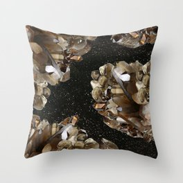 Smokey Beauty Throw Pillow