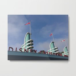 California Adventure Metal Print