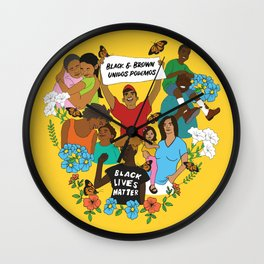 Diversity is Resistance Wall Clock