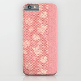 Laced pink iPhone Case