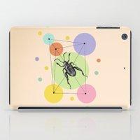 bug iPad Cases featuring bug by mark ashkenazi