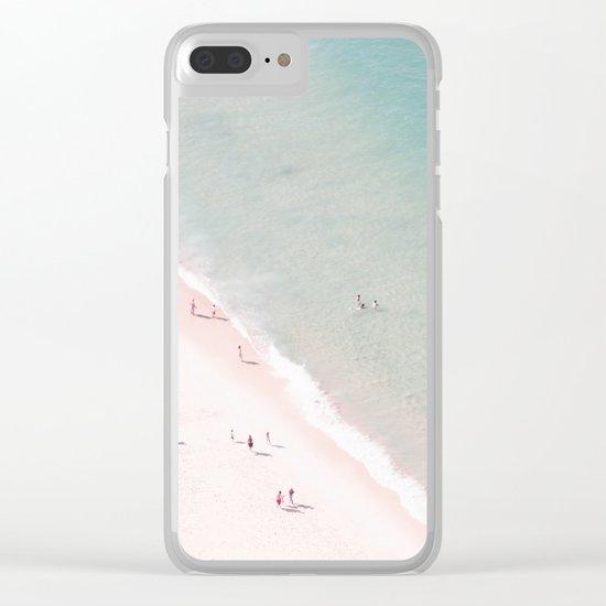 beach - summer of love Clear iPhone Case