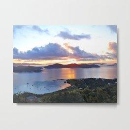 Coral Bay, St John Metal Print