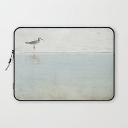 Reflecting Sandpiper Laptop Sleeve