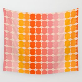 Strawberry Dots Wall Tapestry