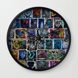 Abstract 20 Wall Clock