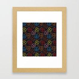 kind Space Invaders Framed Art Print