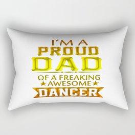 PROUD DAD OF A DANCER Rectangular Pillow