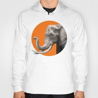 eric fan Hoodies featuring Wild 6 by Eric Fan & Garima Dhawan by Garima Dhawan