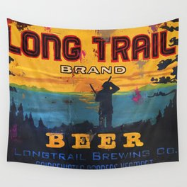 Vermont Brewers Series Long Trail Wall Tapestry