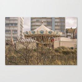 Carousel Manège Canvas Print