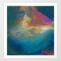 Bass Nebula Art Print