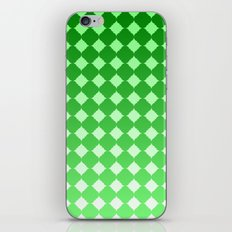 Quatrefoil Pattern with Ombre Effect iPhone & iPod Skin