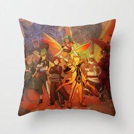 jincuriki bijuu Throw Pillow