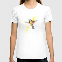 hummingbird T-shirts featuring hummingbird by emegi