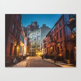 Twilight Hour - West Village, New York City Canvas Print