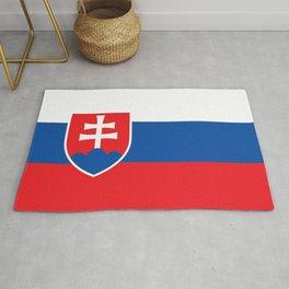 Slovakia Flag - Slovak Republic Flag Rug