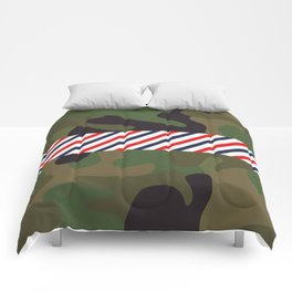 Barber Camo Pattern Comforters