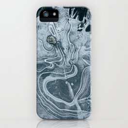 Frozen Marble iPhone Case