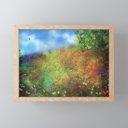 Wildflower Meadow Framed Mini Art Print