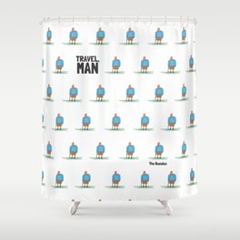 Travel, Man Shower Curtain