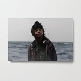 Sami Portrait Metal Print