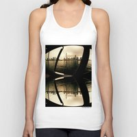 cityscape Tank Tops featuring Cityscape by sysneye