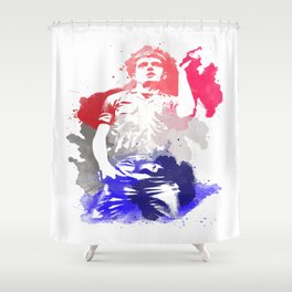 Ian Curtis Shower Curtain