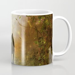 The lonely wolf Coffee Mug