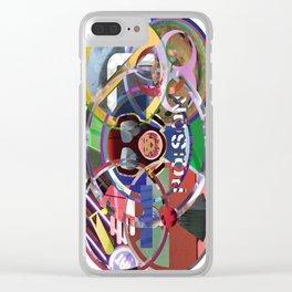 HAZMAT 03 Clear iPhone Case