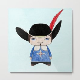 A Boy - Musketeer Metal Print