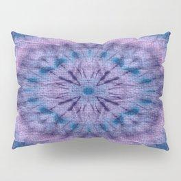 Purple Tie Dye Pillow Sham