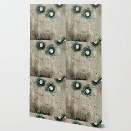 Sepia Circles Wallpaper