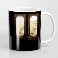 doors Mugs featuring Sunset Doors by Don Paris Schlotman