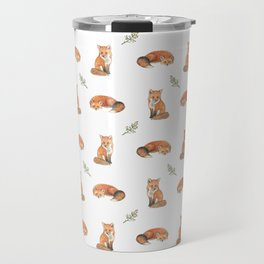 Red fox Travel Mug