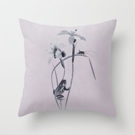 Wildflower Harmony Throw Pillow