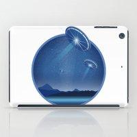 ufo iPad Cases featuring Ufo by JuliaTara