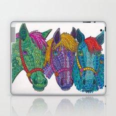 Horse Triptych #1 Laptop & iPad Skin