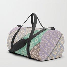 Layered patterns Duffle Bag